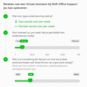 Virtual Assistant tarieven