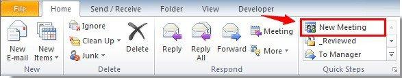 Outlook tip