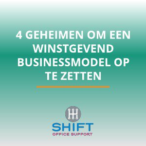 winstgevend businessmodel
