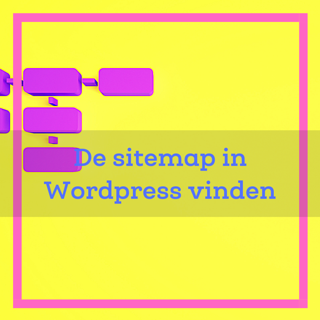 sitemap wordpress vinden